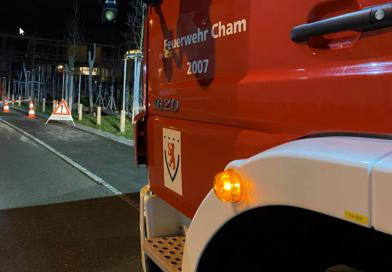 Kommandoübergabe der Feuerwehr Cham